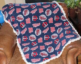 Minnesota Twins Baby Blanket