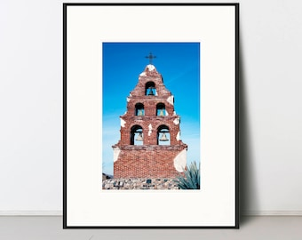 MISSION BELLS | Bell Gable Facade Mission San Miguel Arcangel Fine Art Photography