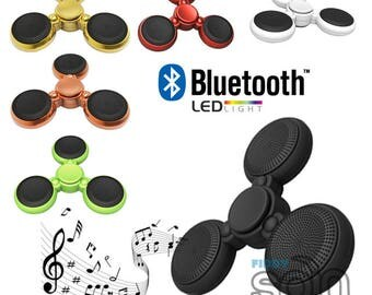 Premium LED Fidget Spinner with High Quality Bluetooth Speakers