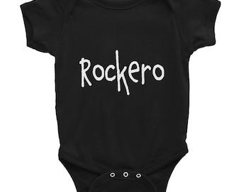 Rockero Infant Bodysuit NB-24mos / Rock N Roll Rock Star Baby Onesie