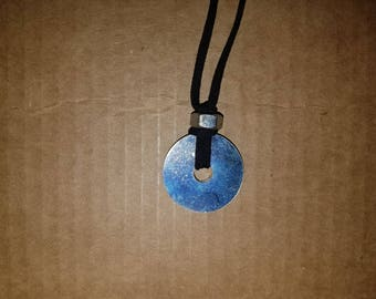 Industrial Washer and Nut Necklace