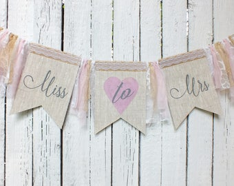 miss to mrs banner bridal shower banner rustic bridal shower banner banner miss to mrs