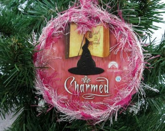Charmed Christmas Ornament Upcycled TV Show DVD #9