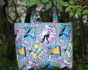 Dr Who Tote