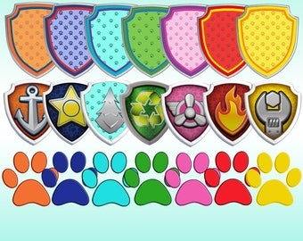 Paw Patrol Clip Art Paw Patrol PNG background files  Digital PAW ClipArt Scrapbooking Download Printable Paw Patrol Image Cartoon PNG