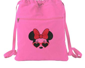 Sunglasses Minnie Mouse - Minnie Mouse Bag - Disney Tote - Minnie Mouse - Disney Backpack - Minnie Mouse Backpack