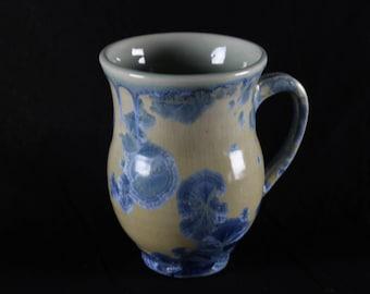 Crystalline Glazed Ceramic Mug