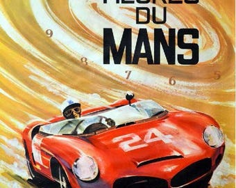 Shows the 24 hours of Le Mans 1963