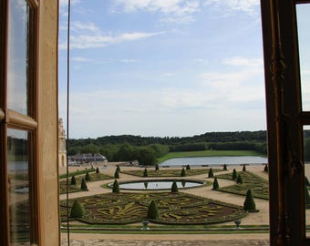 View from Marie Antoinette's Balcony -  Paris, Versailles, Art, Color and BW Photography & Home Decor, Wall Art, Prints, Matted Photographs