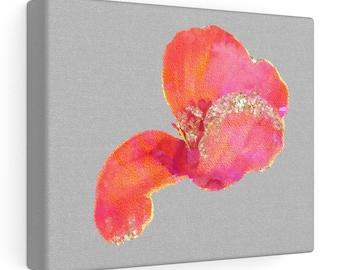 Poppy Petal Art - Flower Design - modern home decor