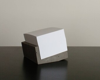 Note Pad | Post it Holder Concrete