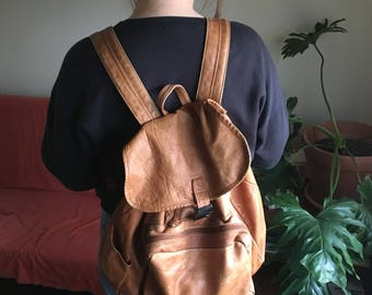 Buttery Soft Vintage Leather Backpack