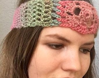 Mandala head scarf. Mandala head wrap. Mandala neck scarf. Festival scarf. Hippie scarf.