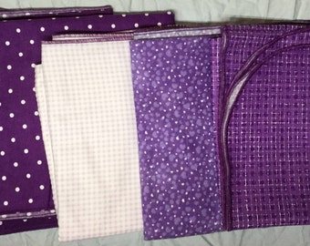 Real Baby Sized 100% Cotton Flannel Swaddling Blankets