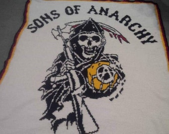 Sons of Anarchy  Blanket