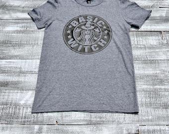 Starbucks themed Basic Witch T-shirt