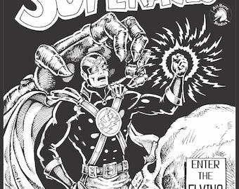 SUPER ACES   WWII Sci-Fi super hero comic
