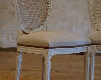 Louis XVI Medallion Chair year