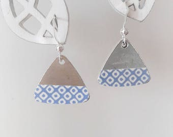 """The little """"little paper: paper masking tape designs and silver sequin"""""""