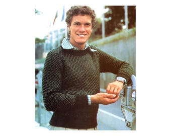 Mens Sweater Knitting Pattern