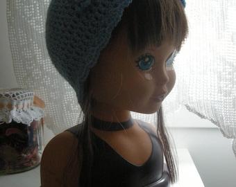 bonnets été au crochet pour bébé divers modèles