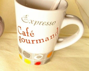521) 6 mugs ceramic coffee decor