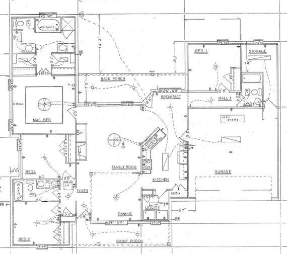 Home Plans Architect Drawing House Plans Construction