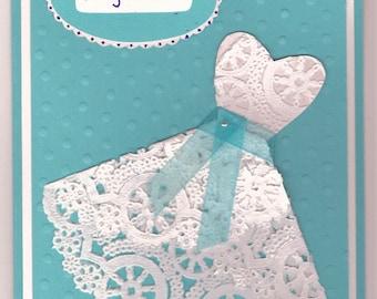 Wedding Shower - Paper Doily Dress