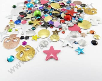 Rhinestone Thermo - MULTICOLORED - x 5gr
