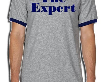 The Expert Shirt - Barron Trump The Expert Ringer T-Shirt - MAGA Shirt - Barron Trump Expert T-Shirt - #Maga Free Shipping!