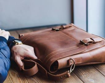 Leather satchel,Leather large shoulder bag,Large tote bag for men,Men's Leather Duffel,Handmade Weekender Bag,Travel Overnight bag