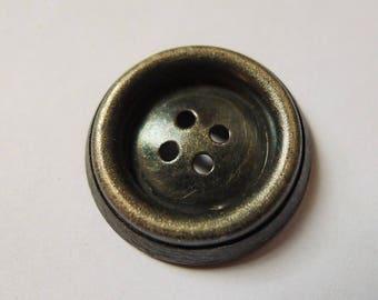 9 silver buttons antique