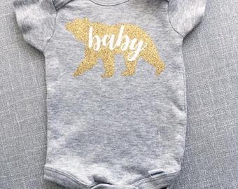 Baby Bear Onesie® | Baby Onesie® | Baby Girl Onesie® | Custom Onesie® | Infant Girl Clothes | Custom Baby Onesie® | Bodysuit | Baby Gift