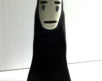 Statue figurine faceless Faceless Ghibli Miyazaki spirited away
