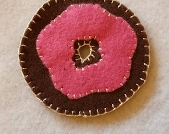Chocolate Donut Magnet