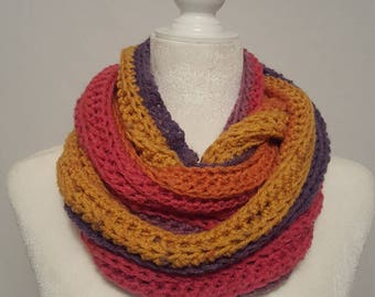 Sunset Ribbed Scarf