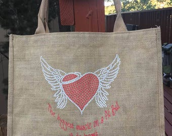 Reusable Jute Shopping Bag.