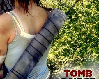 Replica props equipment: quiver - Lara Croft Tomb raider 2013
