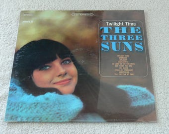 The Three Suns, Twilight Time - 1966 Vintage Vinyl LP - Still Sealed Mint