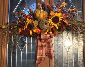 Autumn Grapevine Arch