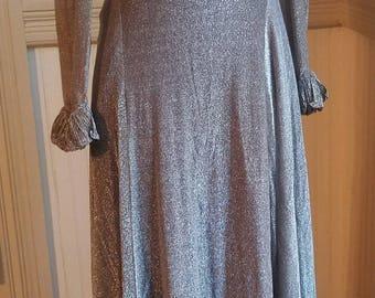 Vintage 1970's Gold Dress -Felix Arbeo for Aventura