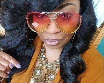 OVERSIZED SUNGLASSES Trendy Eye wear Men and Women Fashion Trendy Eyewear Accessories