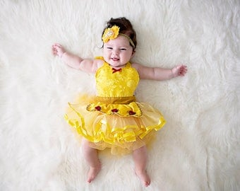 belle costume belle baby costume baby princess costume newborn photo prop princess - Halloween Princess Costumes For Toddlers