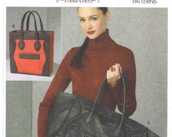 V9074 - Vogue - Bags - New sewing pattern - One Size - Kathryn Brenne
