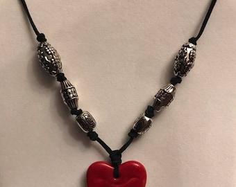 African Kazuri Clay Necklace
