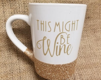 This might be wine coffee cup