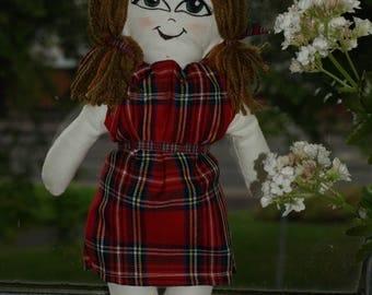 Tartan Doll