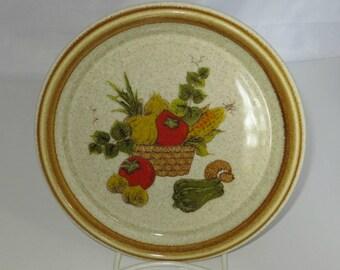 Vintage Mikasa Market Basket Salad Plate