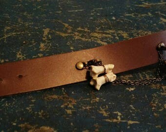 Coyote Bone Bracelet