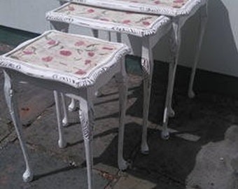 Nest of Tables: Upcycled French Style